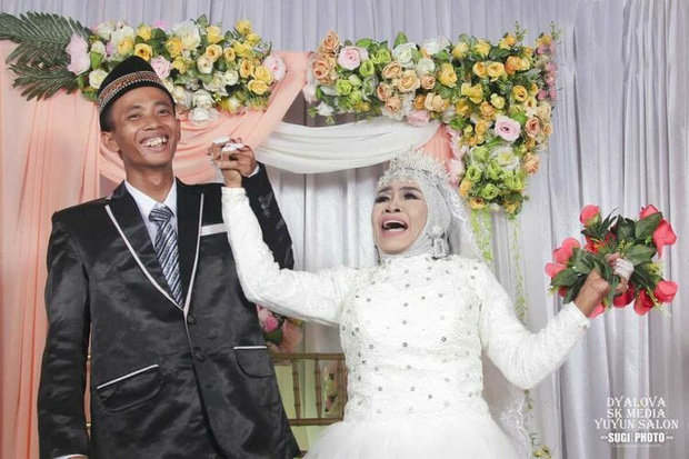 Cặp đôi cách nhau 41 tuổi vừa tổ chức đám cưới.