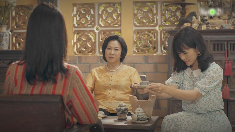 'Gạo Nếp Gạo Tẻ' (phần 2) tập 2: Trong phút chốc, Thúy Ngân phải chịu cảnh chung chồng với Thùy Trang 5