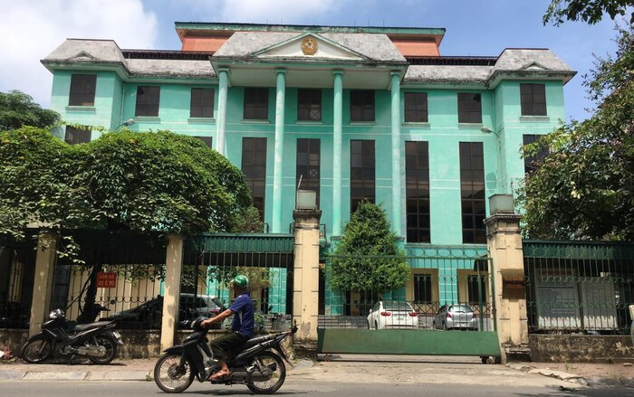 Tòa án nhân dân quận Hà Đông.