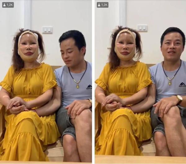 Chồng trẻ không ngừng quan tâm, lo lắng cho cô dâu 62 tuổi sau quá trình phẫu thuật mới nhất.
