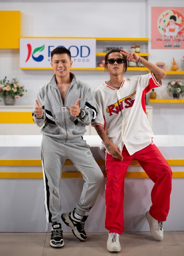 Trần Anh Huy và Hữu Thanh Tùng