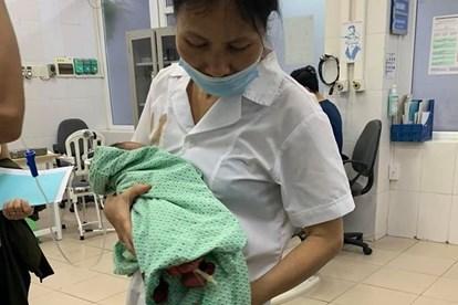 Sau thời gian điều trị, bé An đã không qua khỏi.