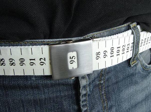 Chiếc thắt lưng giúp bạn theo dõi cụ thể số đo của vòng eo