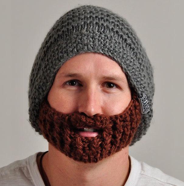 Chiếc mũ độc đáo có một không hai này giúp cho những người đàn ông ấm áp hơn trong mùa đông