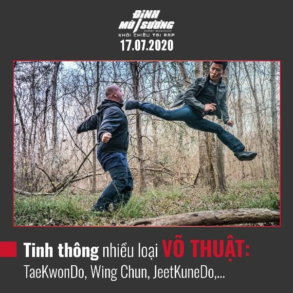 Peter Phạm - nam chính đối đầu với ngôi sao võ thuật châu Á Trương Đình Hoàng và Simon Kook trong 'Đình mù sương' là ai? 1