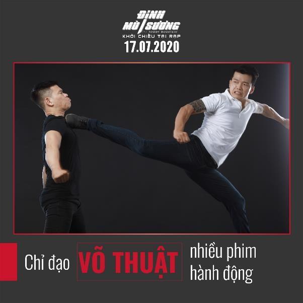 Peter Phạm - nam chính đối đầu với ngôi sao võ thuật châu Á Trương Đình Hoàng và Simon Kook trong 'Đình mù sương' là ai? 2
