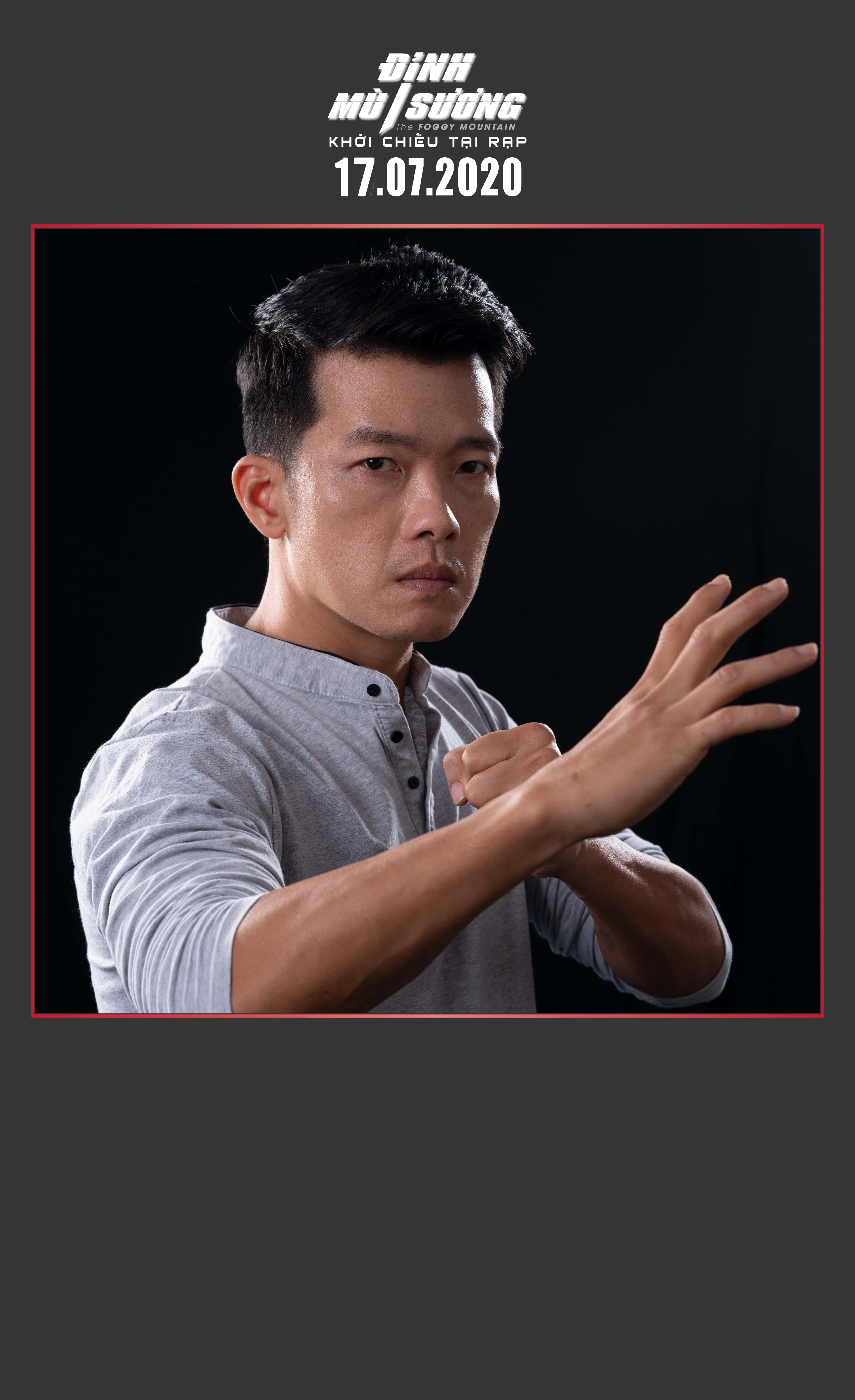 Peter Phạm - nam chính đối đầu với ngôi sao võ thuật châu Á Trương Đình Hoàng và Simon Kook trong 'Đình mù sương' là ai? 0