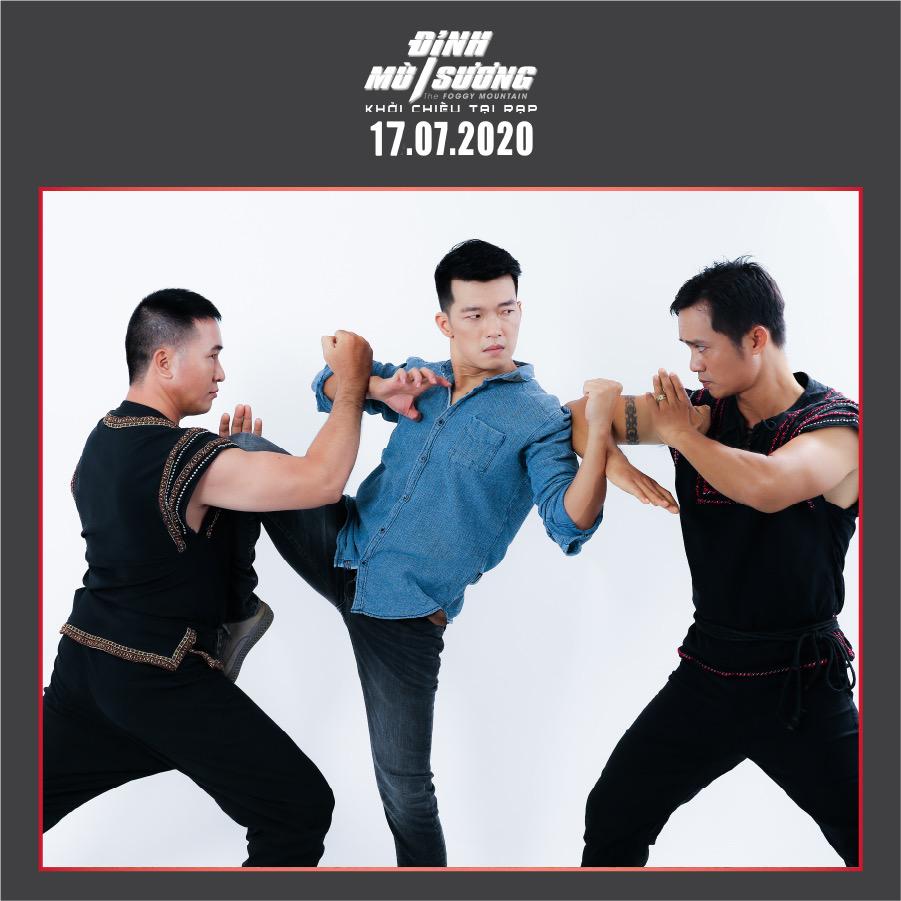 Peter Phạm - nam chính đối đầu với ngôi sao võ thuật châu Á Trương Đình Hoàng và Simon Kook trong 'Đình mù sương' là ai? 4