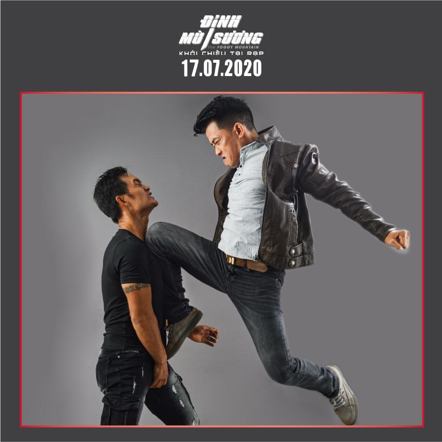 Peter Phạm - nam chính đối đầu với ngôi sao võ thuật châu Á Trương Đình Hoàng và Simon Kook trong 'Đình mù sương' là ai? 3