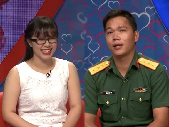 Cặp đôi Văn Tân - Mỹ Phượng.