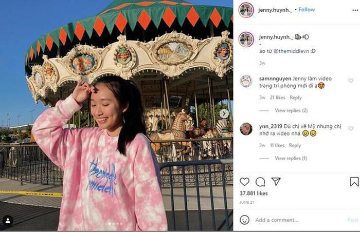 Instagram cớ lượt tương tác 'khủng' của cô nàng.
