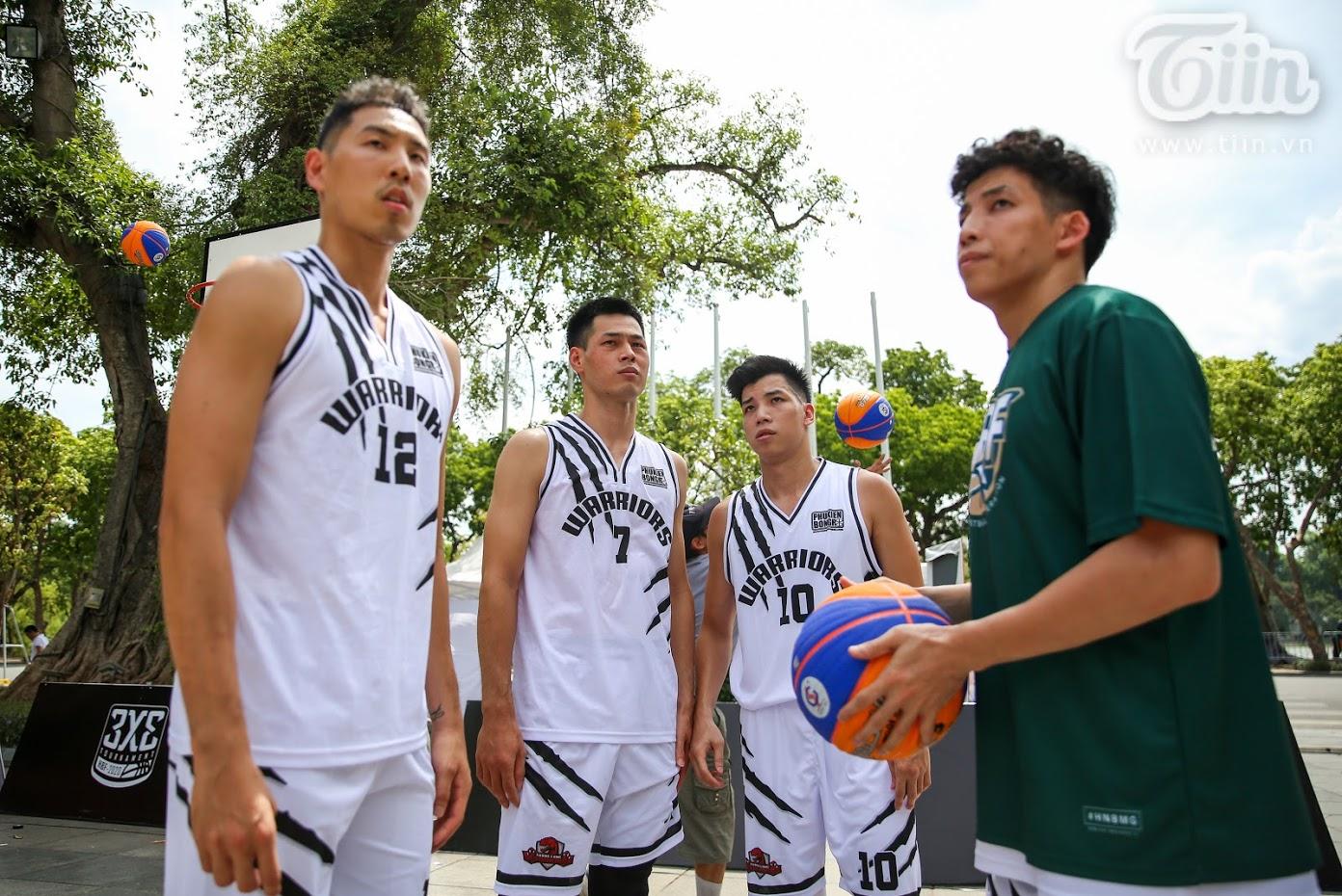 Đội hình của Thanglong Warriors tham dự giải đấu.
