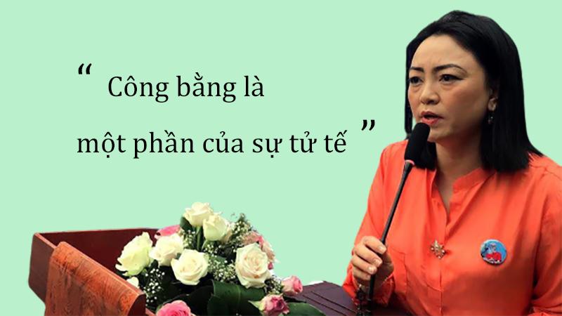 Với cô Văn Thùy Dương công bằng chính là một phần của sự tử tế