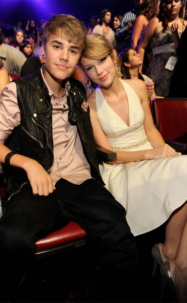 Justin -Taylor thời còn thân thiết.