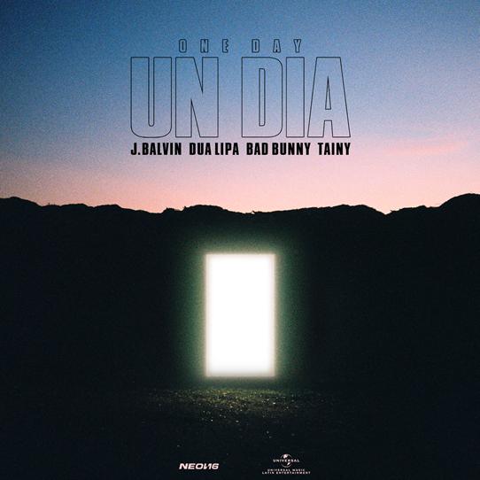 Bìa single Un Día (One Day).