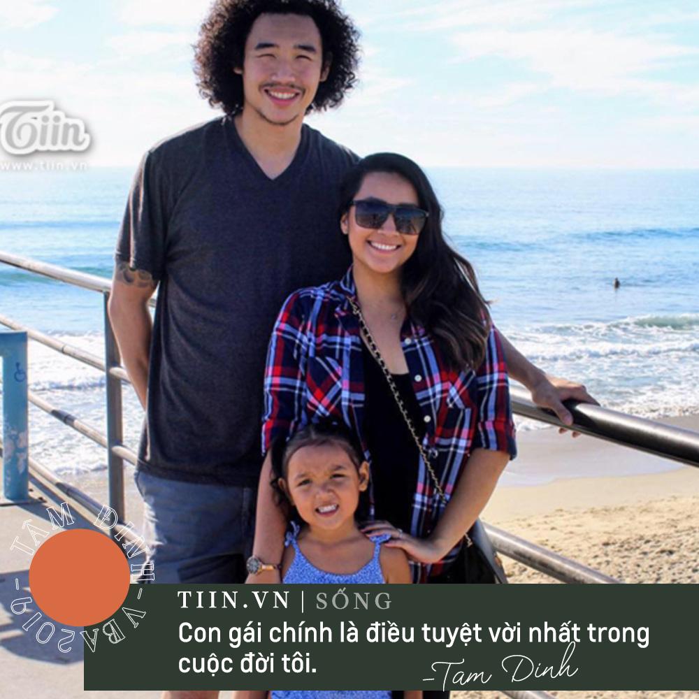 Tuy nhiên, theo tiết lộ mới đây, Tâm Đinh và người bạn gái này đã chia tay, con gái của anh hiện vẫn sống tại Mỹ