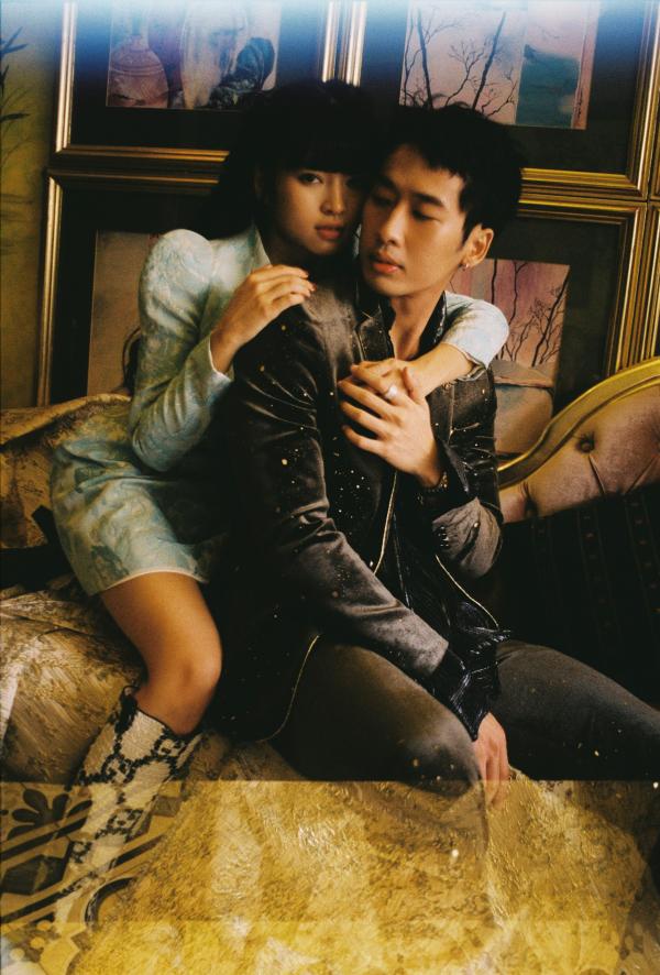 Tuấn Trần - Khánh Vân như cặp tình nhân trong bộ ảnh thời trang 0