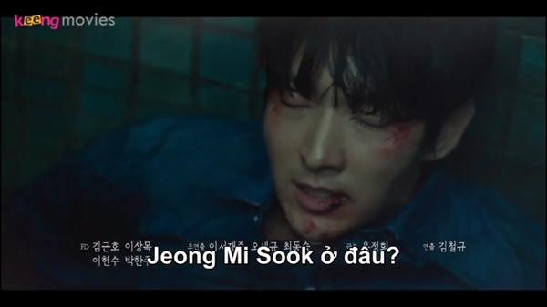 Park Kyung Choon chỉ điên cuồng đi tìm vợ và sẵn sàng giết bất cứ ai.