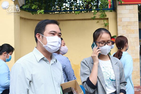 Thầy Phan Thanh Hiền, giáo viên trường Quang Trung Nguyễn Huệ.