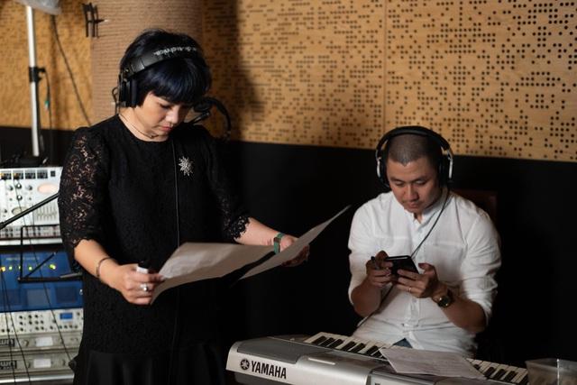 Ca sĩ Ngọc Khuê cùng nhạc sĩ Nguyễn Văn Chung khởi xướng dự án ý nghĩa.