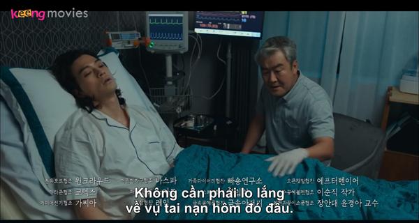 Baek Hee Sung đã tỉnh lại và có ý thức.