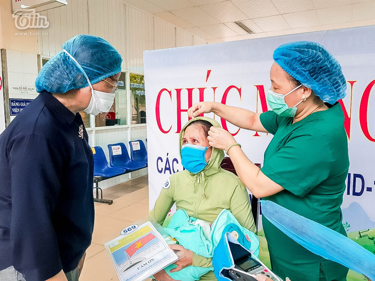 Thêm 16 bệnh nhân Covid-19 ở Đà Nẵng khỏi bệnh, sản phụ nhiễm bệnh đã xuất viện cùng con 3