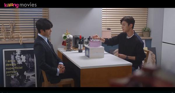 Do Kyum khuyên Ji Woo nên tổ chức sinh nhật cùng chị.