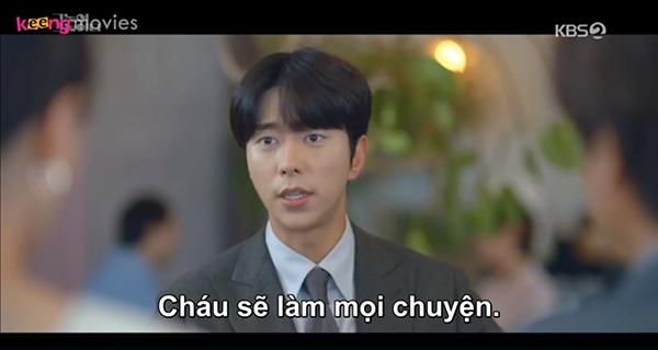 Ji Woo đã khiến 'bố mẹ vợ' cực kỳ hài lòng.