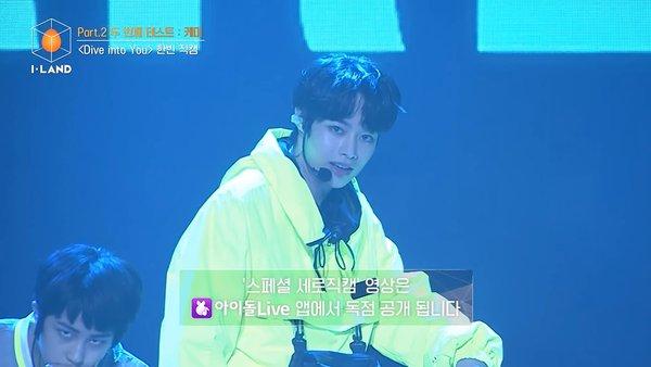 Hanbin trong Dive Into You