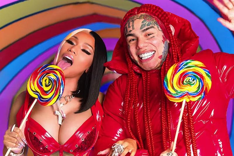 Vừa 'chạm nóc' Hot 100, rapper 'lắm tài nhiều tật' 6ix9ine đã vội phủi sạch công lao của đàn chị Nicki Minaj? 0