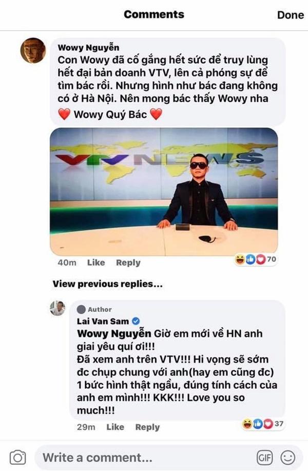 Tuy không gặp được thần tượng ở đất Hà Nội nhưng Wowy đã là fanboy thành công khi được Idol hiểu tấm lòng lại còn bình luận hứa hẹn thế này nữa...