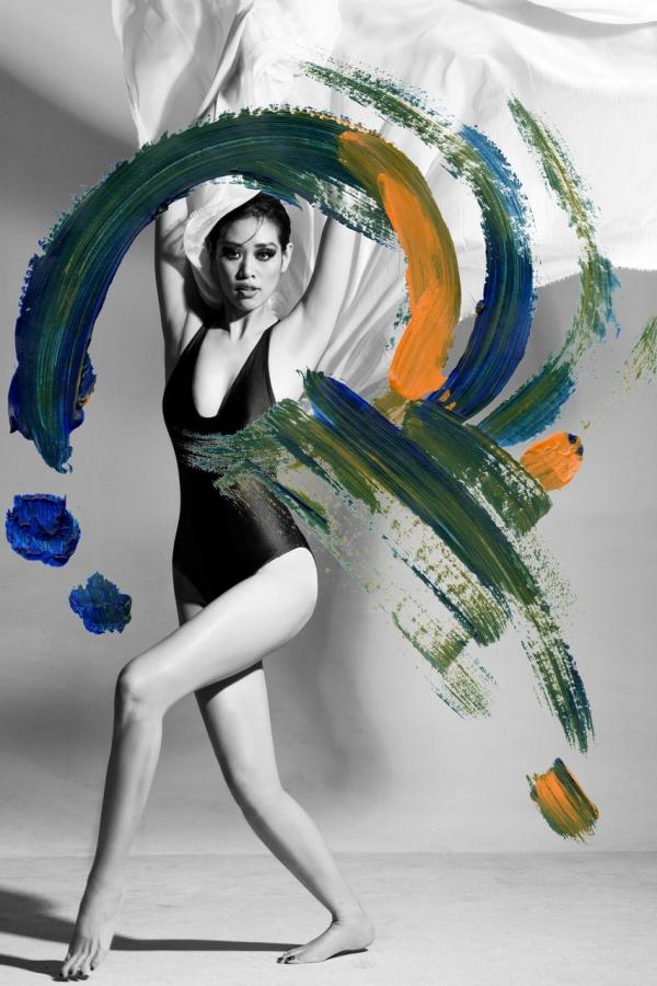 Hoa hậu Khánh Vân xuất hiện khác lạ trên tạp chí thời trang quốc tế 4