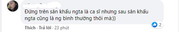 Bình luận của khán giả về sự cố 'buột miệng' của Noo Phước Thịnh.
