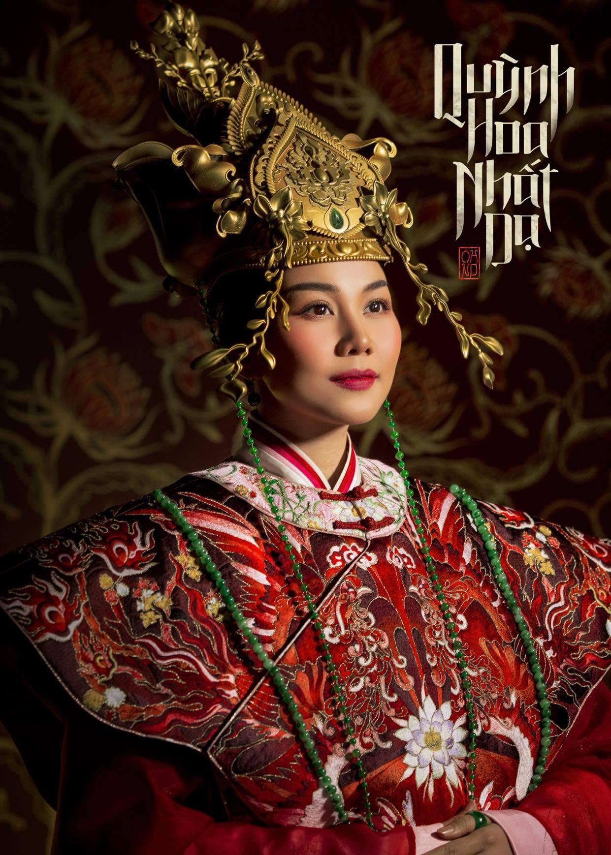 Thanh Hằng lên tiếng về những phản ứng trái chiều với trang phục trong 'Quỳnh Hoa Nhất Dạ' 2