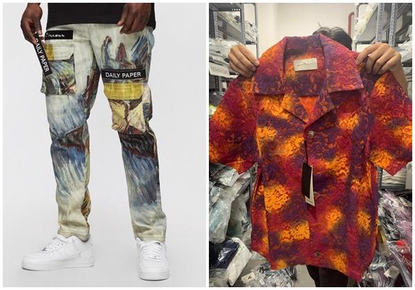 Trong đó, quần jeanVan Gogh Cargo Pants Painting có giá khoảng 4,2 triệu đồng. Mẫu áo mang màu sắc rực rỡ mà Binz mặc là một thiết kế được thêu tay tỉ mỉ - Bali Tie-dye Lace Shirt có giá cũng 'phức tạp' như họa tiết của chiếc áo vậy, khoảng 12,2 triệu đồng.