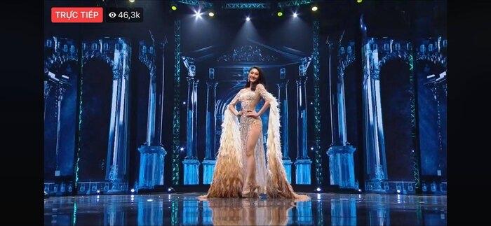 Fan Việt 'la ó' thí sinh Miss Grand Thái đạo nhái thiết kế dạ hội gây tranh cãi của Kiều Loan 2
