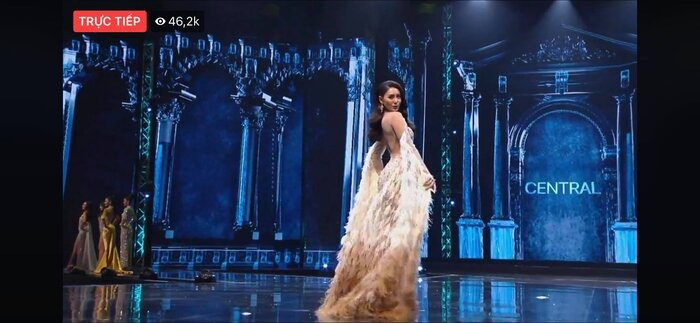 Fan Việt 'la ó' thí sinh Miss Grand Thái đạo nhái thiết kế dạ hội gây tranh cãi của Kiều Loan 3