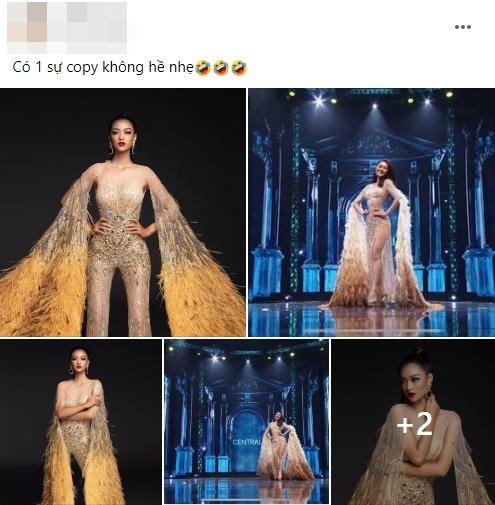 Fan Việt 'la ó' thí sinh Miss Grand Thái đạo nhái thiết kế dạ hội gây tranh cãi của Kiều Loan 5