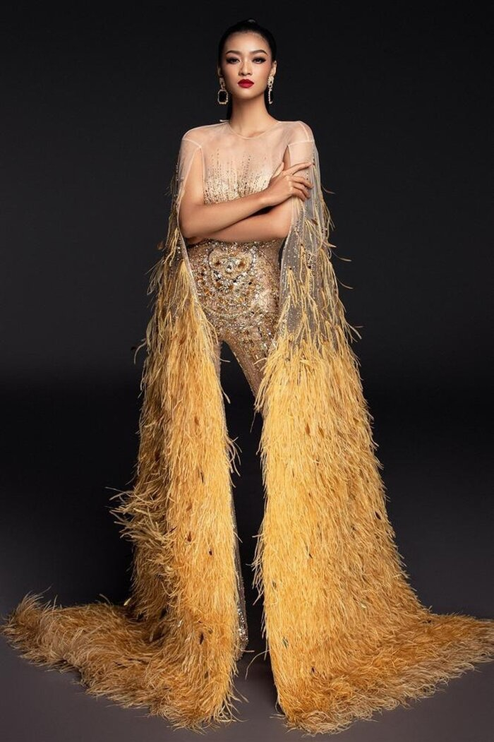 Fan Việt 'la ó' thí sinh Miss Grand Thái đạo nhái thiết kế dạ hội gây tranh cãi của Kiều Loan 7