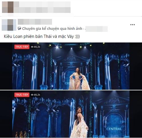 Fan Việt 'la ó' thí sinh Miss Grand Thái đạo nhái thiết kế dạ hội gây tranh cãi của Kiều Loan 6