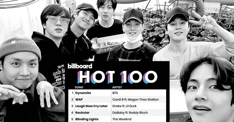 Đây cũng là ca khúc có tuần debut bán chạy nhất năm 2020 trên đất Mỹ.