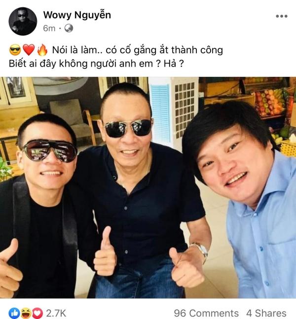 Wowy nói là làm, thành công 'bắt' được idol Lại Văn Sâm 2