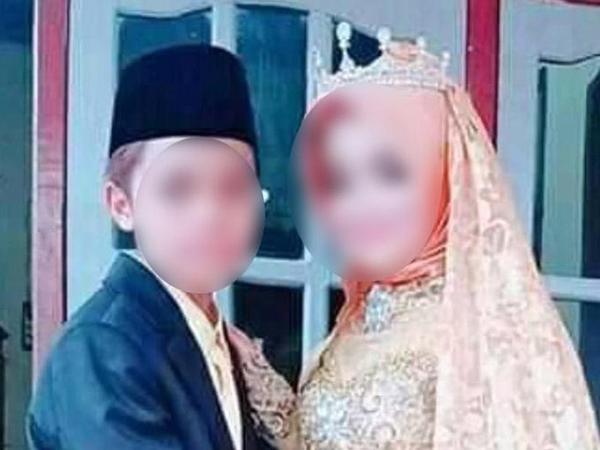 Hôn lễ củachú rể 15 tuổi và cô dâu 12 tuổi.