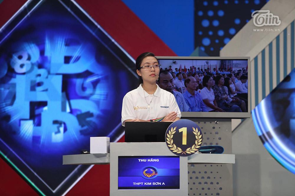 Chiến thắng tuyệt đối, nữ sinh Ninh Bình xuất sắc giành Quán quân Đường lên đỉnh Olympia 2020 8