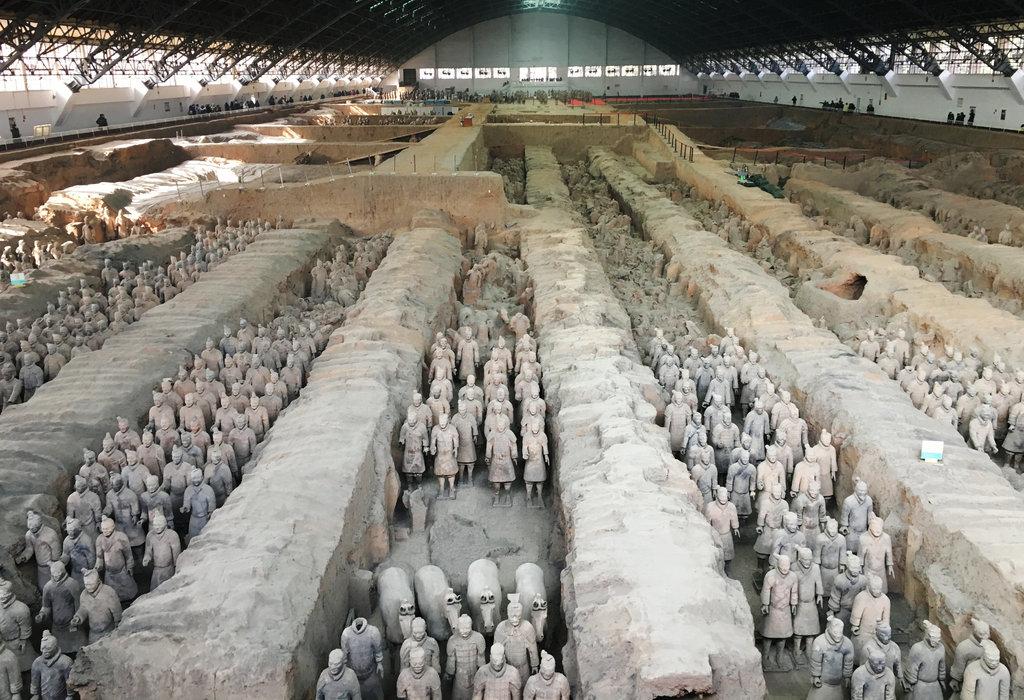 Tây An được mệnh danh là 'thành phố cổ mộ' cũng là nơi đặt lăng mộ Tần Thủy Hoàng nổi tiếng. (Ảnh: Reuters)