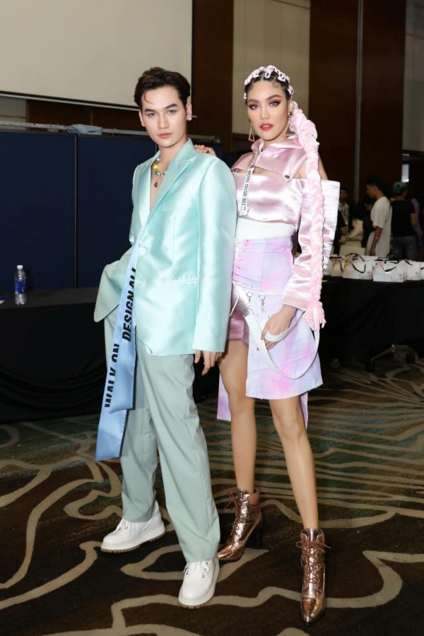 Ali Hoàng Dương cùng siêu mẫu Thanh Hằng vàLan Khuê