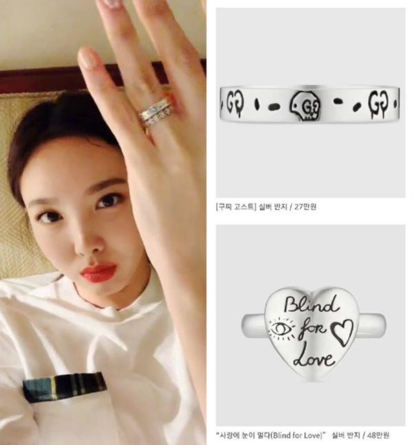 Nayeon khoe quà của IU tặng