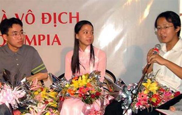 Trần Ngọc Minh thời điểm mới đăng quang vô địch.