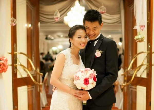 Ngọc Minh lập gia đình vào năm 2013.