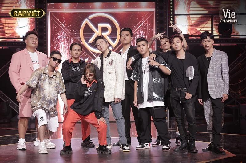 9 thí sinh của đội Karik đã lên sàn đấu trong tập phát sóng vừa qua của Rap Việt.